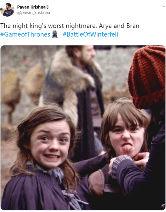 Maisie Williams and Isaac Hempstead-Wright on the Game of Thrones set