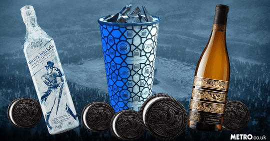 Game Of Thrones oreos/other food and drink items [sat]
