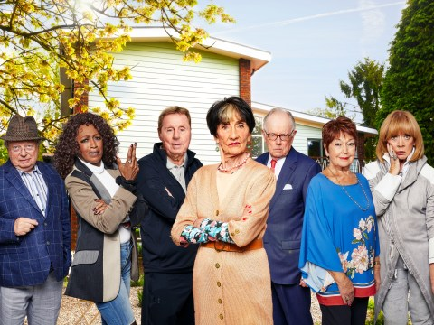 Who is in the cast of Hard To Please OAPs and when is it on ITV?