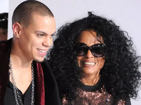 Diana Ross and son Evan Ross fly to Morocco to celebrate Idris Elba's wedding