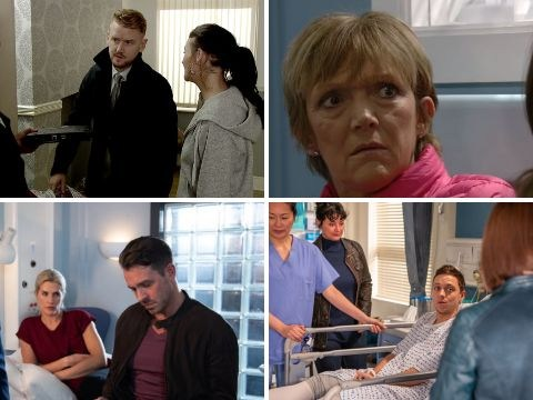 10 soap spoilers: Coronation Street roof collapse twist, Emmerdale Maya blackmail, EastEnders Louise danger, Hollyoaks DNA shocker