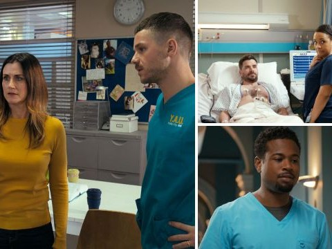 Holby City review with spoilers: Dominic at breaking point and Donna fears for Mia