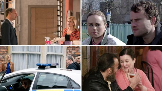 Here's what's coming up in Corrie