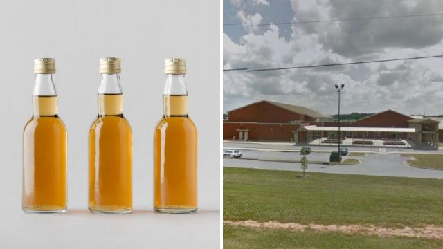 Schoolboy, 13, passed out in class 'after drinking nine mini bottles of cinnamon whisky'