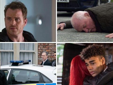 10 soap spoilers: Killer Emmerdale crash, death trauma in EastEnders, Corrie arrest, Hollyoaks gun twist