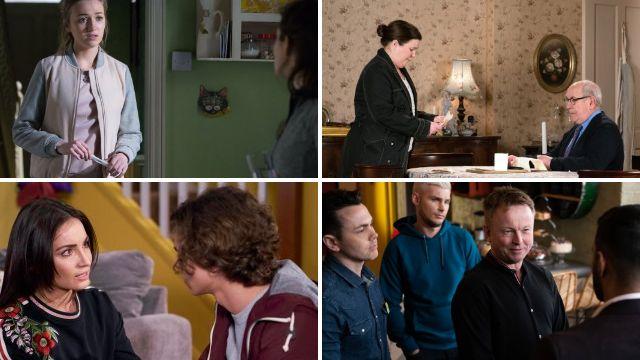 12 soap spoiler pictures: Corrie and EastEnders returns, Emmerdale murder shocker, Hollyoaks race war
