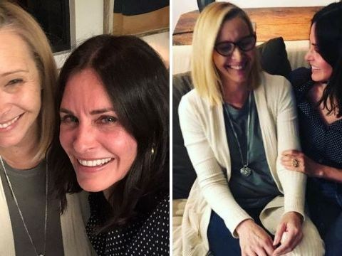 Friends' Lisa Kudrow and Courteney Cox's fresh-faced hangout proves they're still there for you