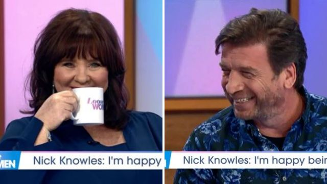Coleen Nolan flirts outrageously with Nick Knowles as she relishes being single