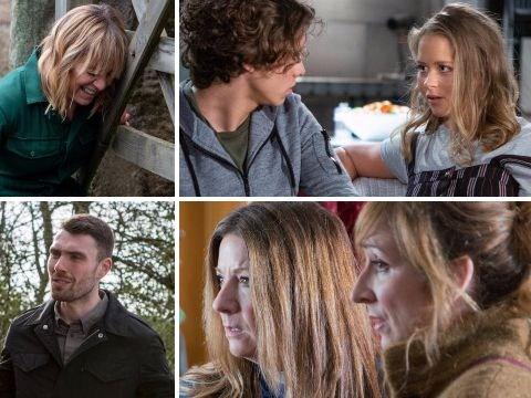 10 Emmerdale spoilers: Kim leaves Rhona to die, Robron surrogacy update, and Jacob plans to expose Maya