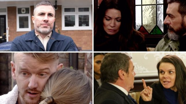 Coronation Street spoilers for Rick, Carla, Peter, Gary, Kate and Johnny