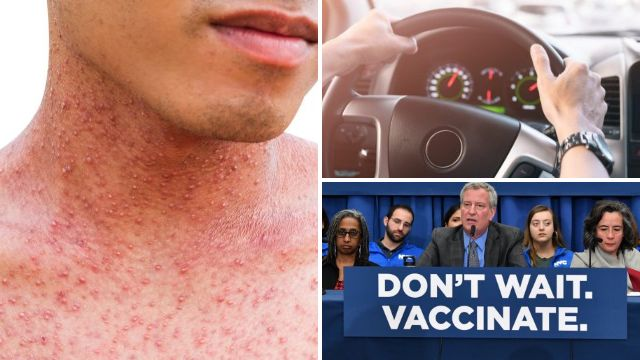 Unvaccinated man gave 39 people measles after taking road trip while sick