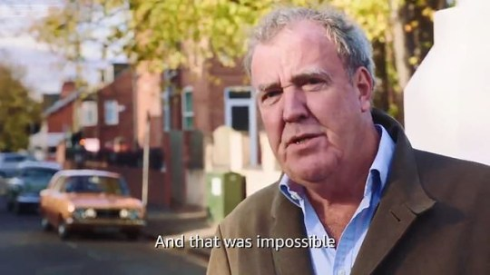 Jeremy Clarkson remembers his dad on The Grand Tour