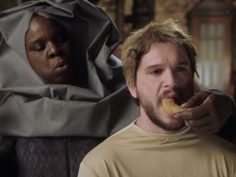 Game Of Thrones's Kit Harington gets shamed on SNL as Leslie Jones lives her fantasy