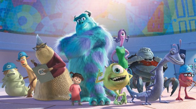 Monsters Inc. characters