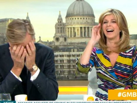 Richard Madeley can't make it five minutes into morning TV without dropping swear word