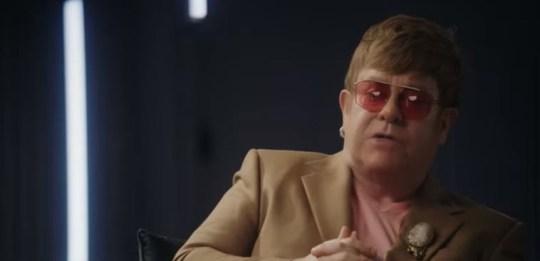 Elton John in Rocketman teaser