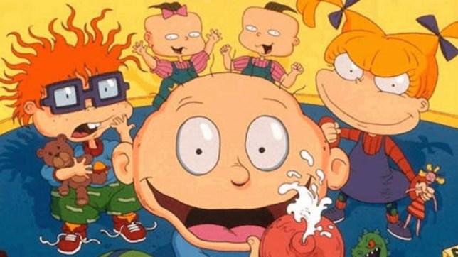 Nickelodeon Cartoon Rugrats Getting Live Action Big Screen