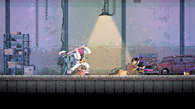 Katana ZERO (NS) - you're the guy without the giant axe