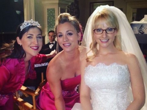 Big Bang Theory's Melissa Rauch shares heartwarming behind-the-scenes throwback of Bernadette's wedding