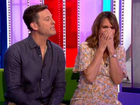 The One Show's Alex Jones bids emotional farewell to Matt Baker for maternity leave