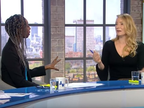 TV debate descends into heated race row as model challenges guest to name five black female presenters – and she can't name one