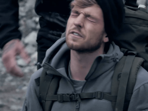 Sam Thompson makes Celebrity SAS: Who Dares Wins cast pay for his mistake with brutal drills