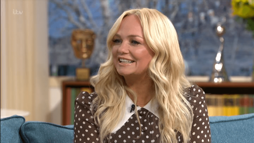 Emma Bunton appears on This Morning (Picture: ITV)