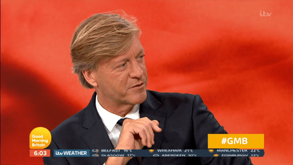 Richard Madeley on Good Morning Britain