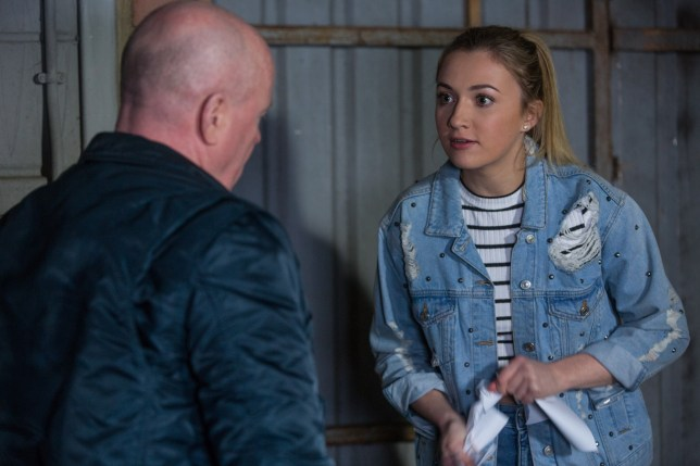 Phil tries to force Louise to have a termination in EastEnders