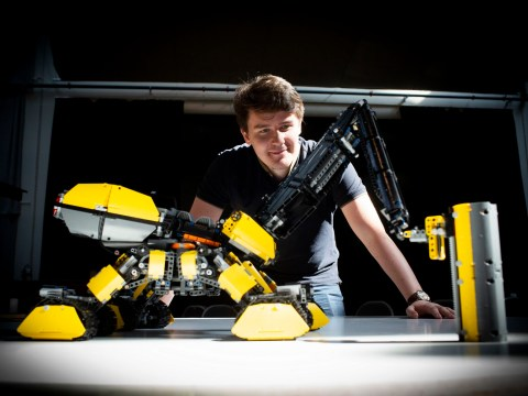 Lego exhibition shows future of construction vehicles
