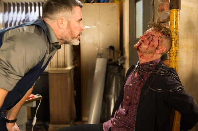 Rick is going to kill Gary in Coronation Street