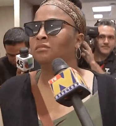 Maleah Davis's mother Brittany Bowen sobbed as she was heckled by protesters while attending ex-fiance Derion Vence's court hearing