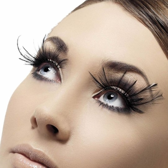How about these super long lashes?