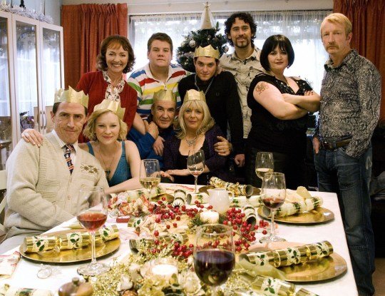 Gavin and Stacey cast on Christmas Day