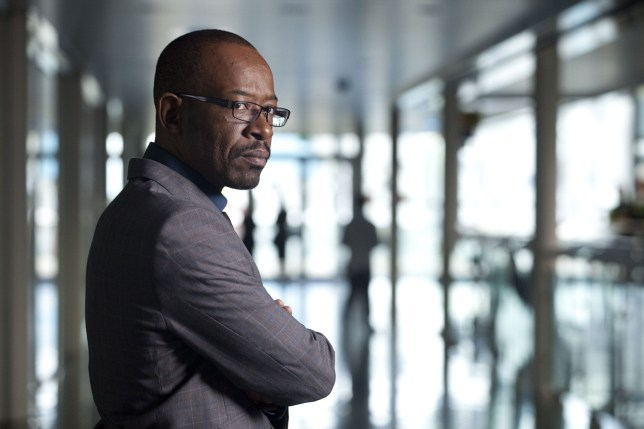 Television Programme: Line Of Duty WITH DCI Tony Gates (LENNIE JAMES) - TX: n/a - Episode: n/a (No. 1) - Embargoed for publication until: 01/12/2011 - Picture Shows: DCI Tony Gates (LENNIE JAMES) - (C) BBC/World Productions - Photographer: Ed Miller