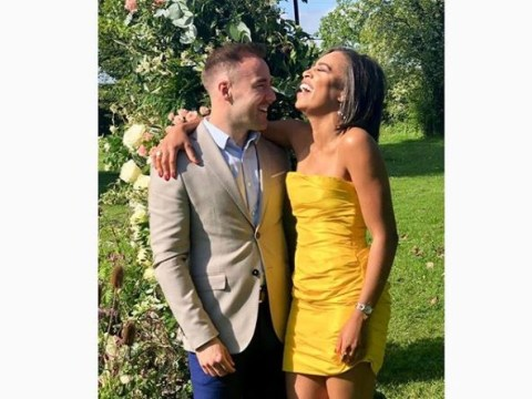 Coronation Street Alan Halsall goes public with new girlfriend Tisha Merry at co-star Sam Aston's wedding