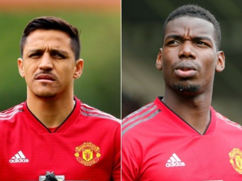 Manchester United dressing room clash over Paul Pogba and Alexis Sanchez bonuses