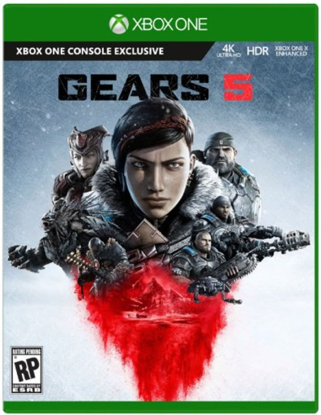 Gears 5 box art and release date leaked