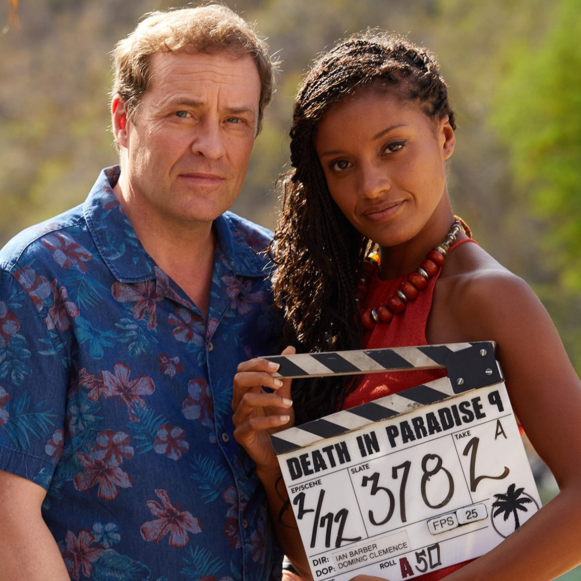 Death in Paradise new series is filming with Aude Legastelois replacing Josephine Jobert