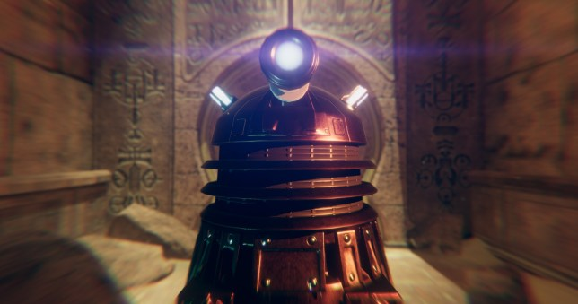 Doctor Who: The Edge Of Time - the Daleks do VR