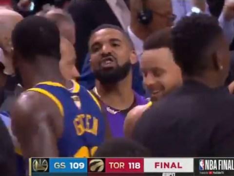 Drake calls Golden State Warriors' Draymond Green 'trash' after Toronto Raptors win