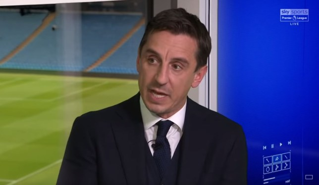 Gary Neville admits he 'doesn't like' the Manchester United squad