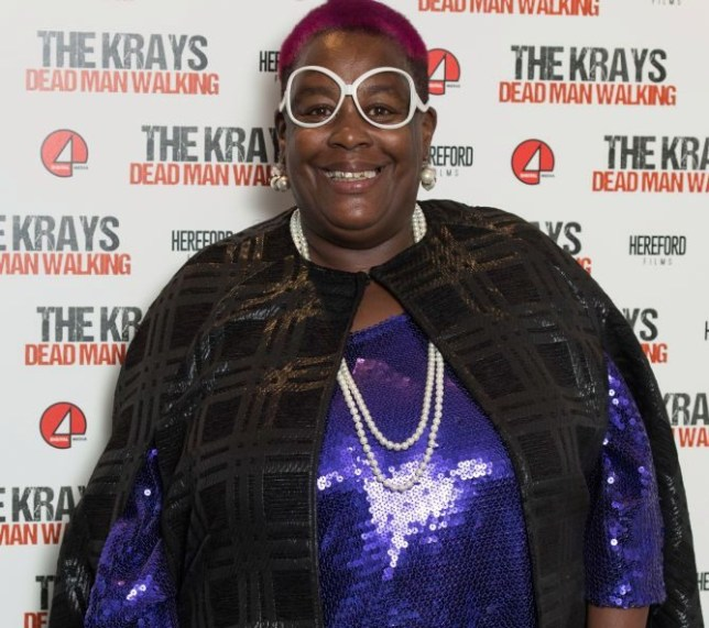 Sandra Martin The Krays red carpet