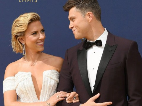 Scarlett Johansson is engaged to SNL writer Colin Jost after two years of dating