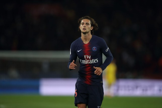 Adrien Rabiot will leave PSG this summer