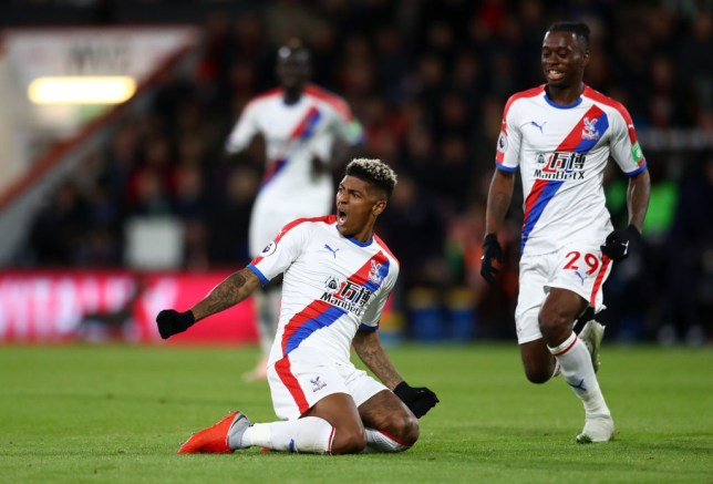 Manchester United are plotting a move for Crystal Palace duo Aaron Wan-Bissaka and Patrick van Aanholt