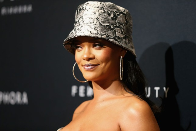 Rihanna at the Fenty Beauty anniversary event. Now she's mastered beauty, she's moving on to fashion.
