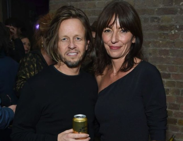 Davina McCall with Michael Douglas whom she is reportedly dating