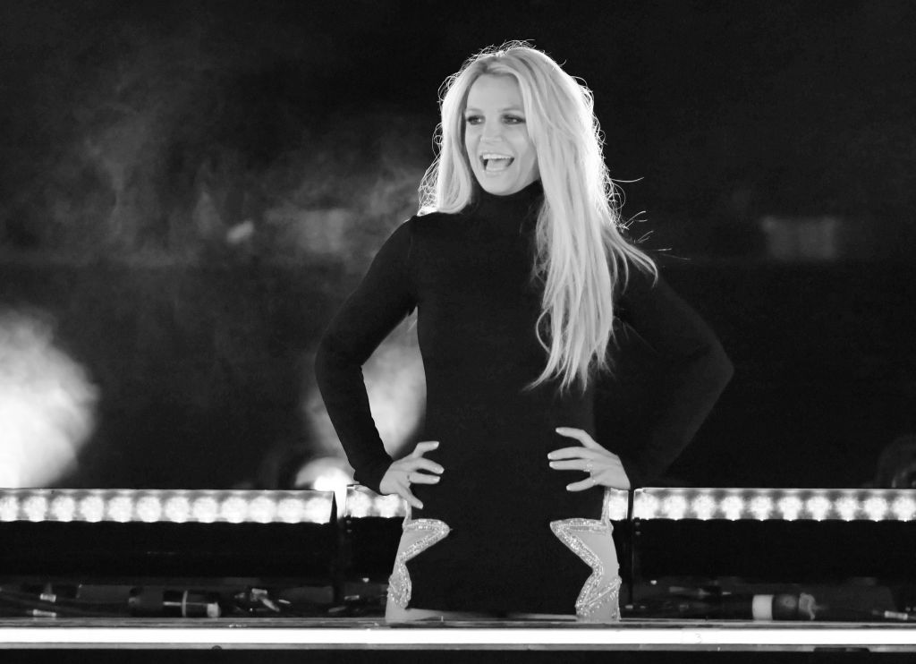 Britney Spears on stage