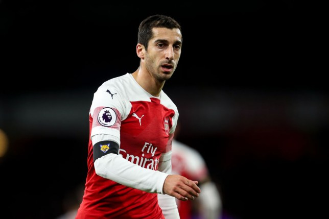 new styles 18d1b 50cc8 Why isn't Arsenal's Henrikh Mkhitaryan playing in the Europa ...